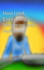 How I met Entity_303, Herobrine, and Null in MC by CreativelyCrafty
