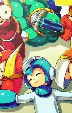 Smol Mega Man Robot Master Daycare! by DWN-NekoKitty