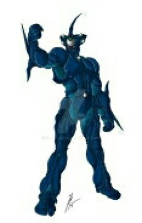 Guardian of the hunt: A Percy Jackson and Guyver crossover
