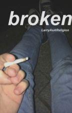 broken; short poems by LarryAsAReligion