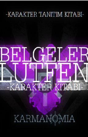 Belgeler Lütfen - Karakter Kitabı by Karmanomia