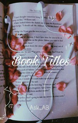Book Title Ideas - GATEN - Wattpad