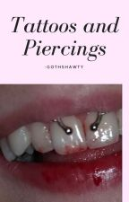 tattoos and piercings by -satansdolly