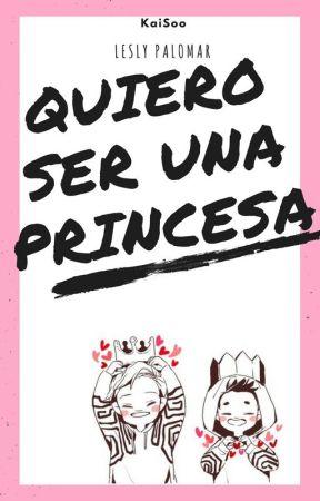 Quiero ser una princesa 👑 KaiSoo drabble by LeslyPalomar