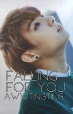 Falling For You// Jungkook X Reader by AwwTingTing