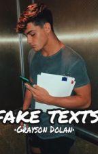 Fake Texts •• Grayson Dolan •• by mariaj_villegas4
