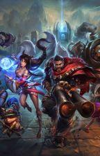 League Of Legends by TaylorBrk