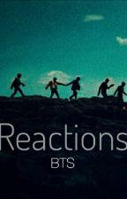 Реакции BTS.   by jin_in_my_heart