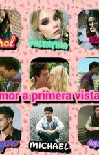 Amor a primera vista 😍 (Ruggarol,Michaentina, Aguslina.) 😻  by lauren_122827