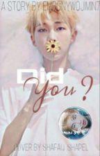Did You? {A Kim Namjoon Fanfiction} #BTSDNABOOKAWARDS by ebonywomin7