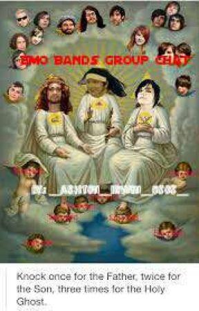Emo bands group chat by _Kim_Xiumin_Seok_