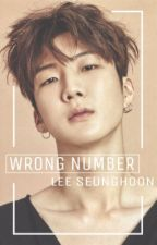 wrong number _ lee seunghoon by alpacake