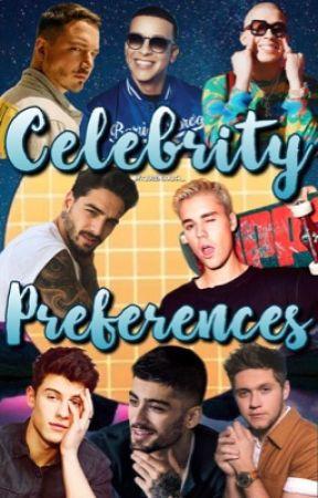 Celebrity preferences by LolaXPR