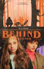 BEHIND THE SCENES   FINN WOLFHARD by bleebug