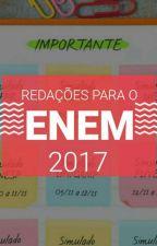 Redações para o ENEM 2017 by Felibeep