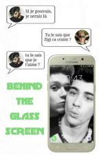 Behind the glass screen ▪ Ziall by _ScarsAreForever