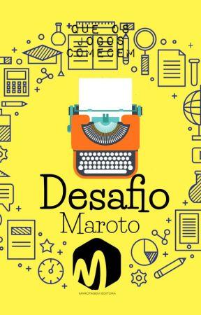 Desafio Maroto by EditoraMarotagem