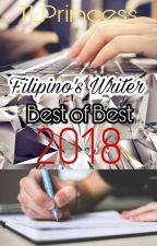 Filipino's Writer Best of Best 2018 OPEN by TLPrincess