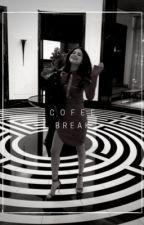 coffee break   texting• by ciisehavva