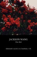 JACKSON WANG  {ONE-SHOT} +18 by peaachyn