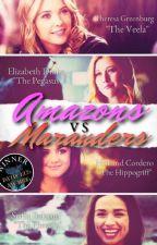 Amazons VS Marauders by Llamariane