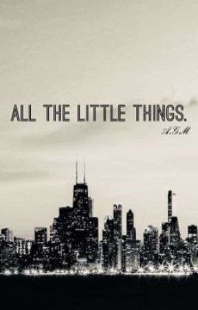 all the little things.    Original Poetry by TheTrueFangirl