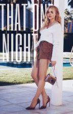 That One Night ↠ D. Sprayberry by thatonewriterrrr