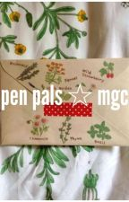 pen pals  ☆   mgc by mikeyxclxfrd