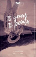 15 Years - 15 Points || VKook  by Tae-Rah