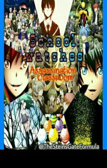 School watches Assassination Classroom