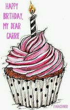 Happy Birthday, my dear Carrie by EvaFacchinieri