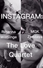 Instagram : The Love Quartet  by Fanfictionorwhatever