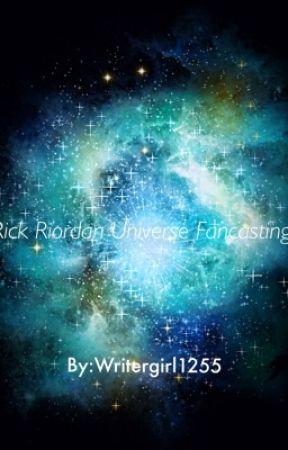 RICK RIORDAN UNIVERSE FAN CASTING by writergirl1255