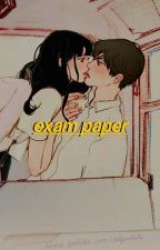 exam paper | jimin. by storiesufia