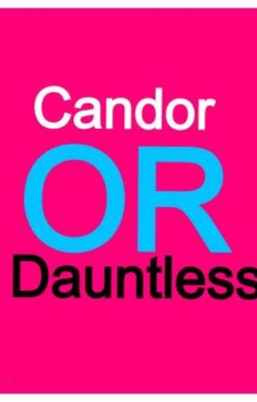 Candor or Dauntless