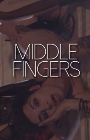 Middle Fingers // spam by -deathdance