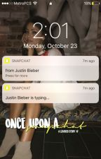 once upon a snapchat || jb  by luvbieb