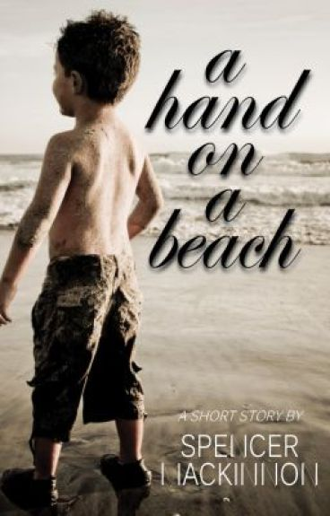 a hand on a beach by SpenceMackinnon