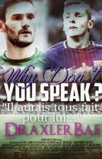 Why don't you speak ? [ Lucas Digne x Hugo Lloris] by DraxlerBae