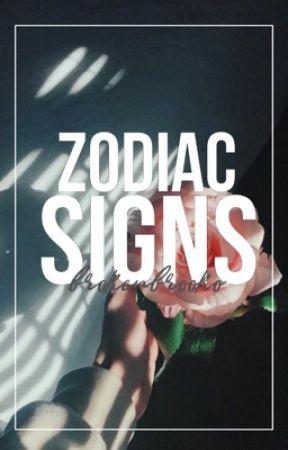 Zodiac signs by Krazykawaiigamer