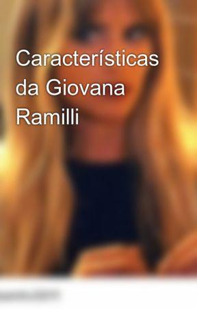 Características da Giovana Ramilli by progredindo