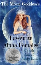 Favourite Alpha Females by K-L-Lord