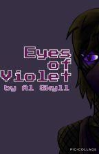 Eyes of Violet (an Enderman X Reader story) by hyenagal