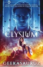 Elysium // Wonder Woman by Geekasauruz