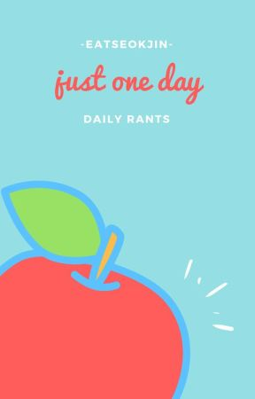 just one day || me by -eatseokjin-