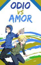 Odio VS Amor [Creek] by EdithMurderos