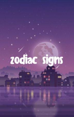 Zodiac Signs by FlumsyFoxiFox19