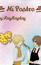 Mi postre <<GOLDDY>> by kaykeyday