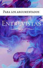 Entrevistas  by TulipeEditorial