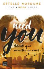 need you estelle maskame  by maripcarruyo